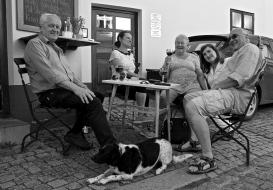 The whole gang -- Cesky Krumlov, Czech Republic